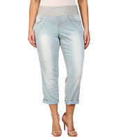 DKNY Jeans - Plus Size Sculpted Leggings Rolled Crop in Toned Wash