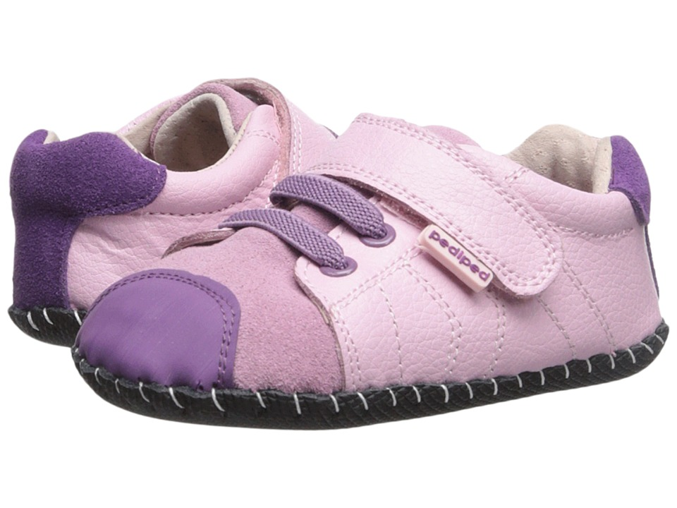 pediped - Jake Original (Infant) (Pink) Girls Shoes