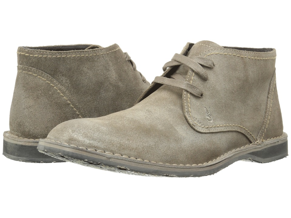 John Varvatos Hipster Chukka Wet Sand Mens Lace up Boots
