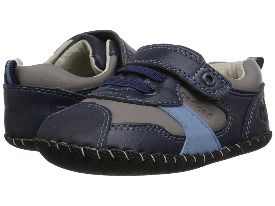 pediped - Franklin Original (Infant) (Navy) Boys Shoes