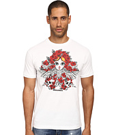 DSQUARED2 - Tarot Card Chic Dan Fit Tee