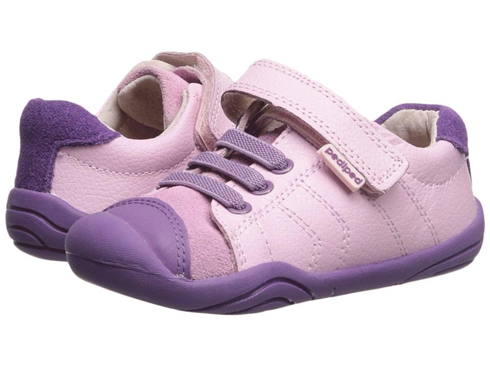 pediped Jake Grip n Go (Toddler) (Pink) Girls Shoes