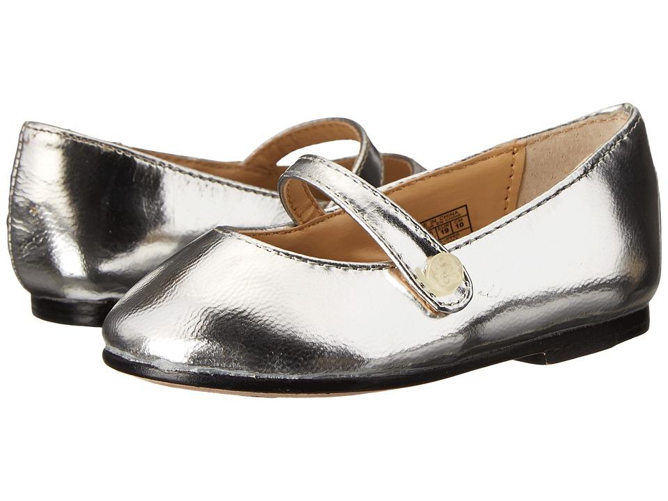 Polo Ralph Lauren Kids Alyssa Maryjane Toddler Silver Metallic Girls Shoes