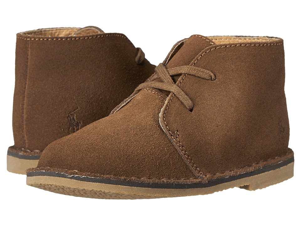 Ralph Lauren Infant's & Toddler's Carl Suede Lace-Up Boot...