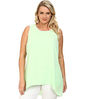 Vince Camuto Plus - Plus Size Sleeveless High-Low Hem Blouse