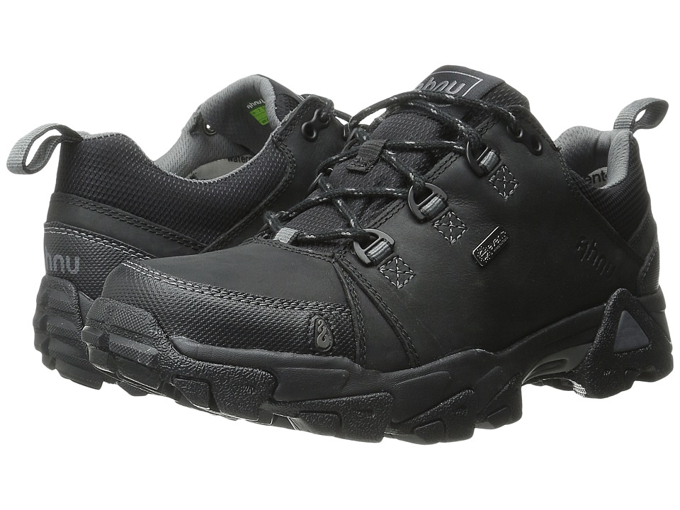 Ahnu Coburn Low Black Mens Shoes