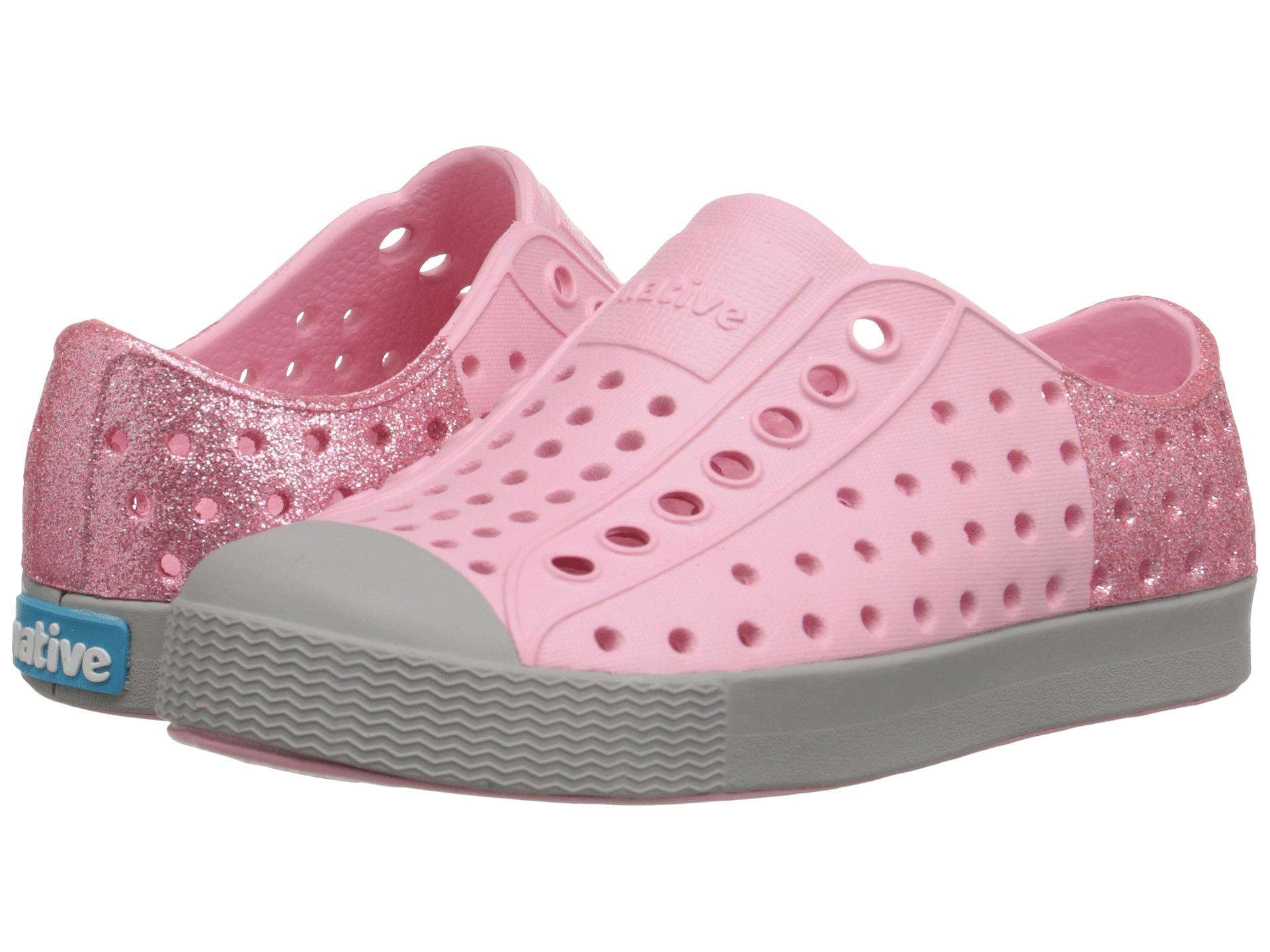 native kids shoes jefferson glitter toddler little kid