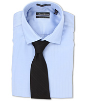 Kenneth Cole New York - Non-Iron Regular Fit Textured Stripe L/S Dress Shirt