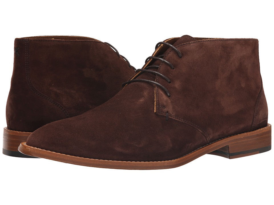 Sebago Collier Chukka (Dark Brown Suede) Men