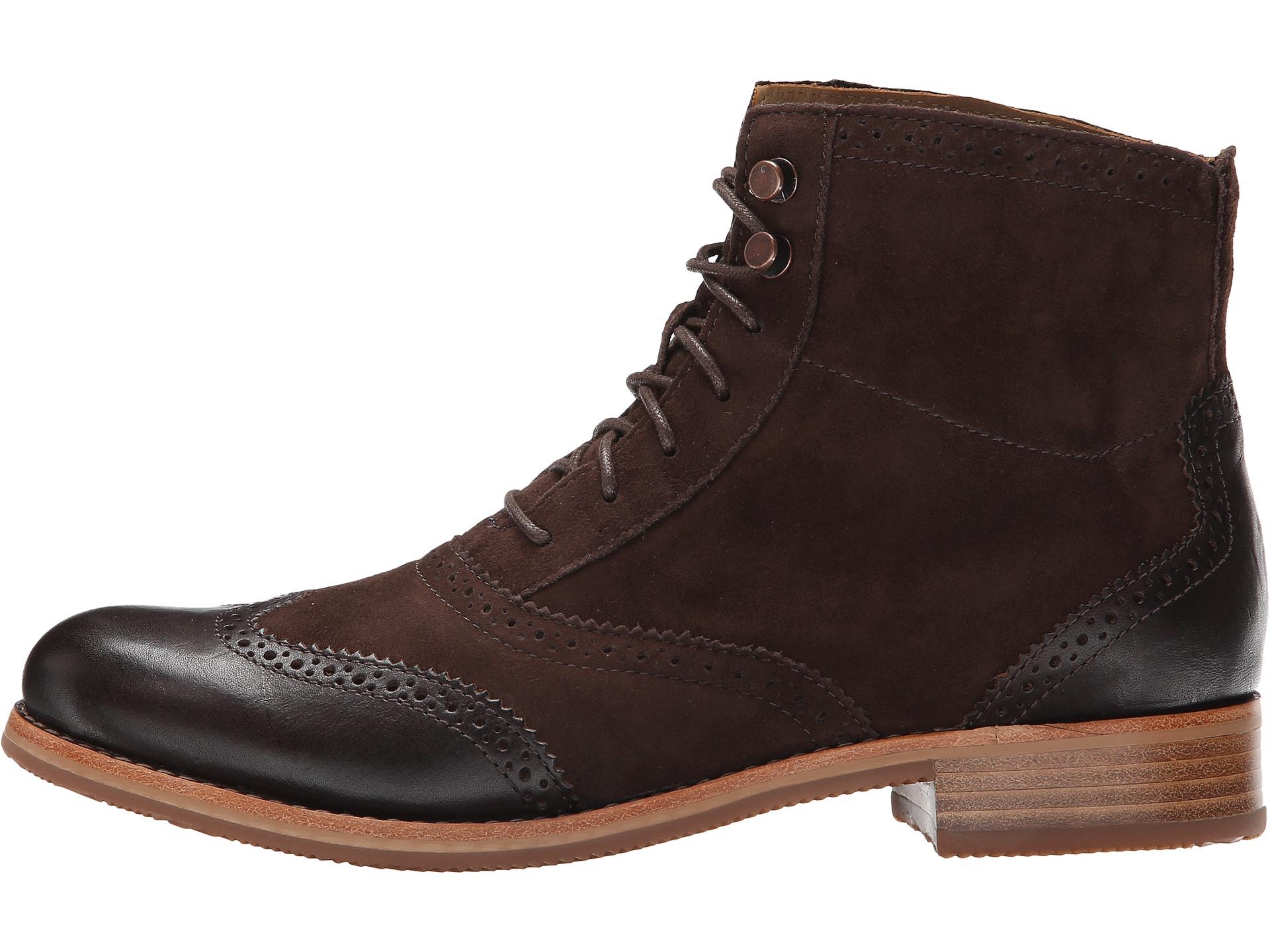 sebago claremont boot brown suede zappos free