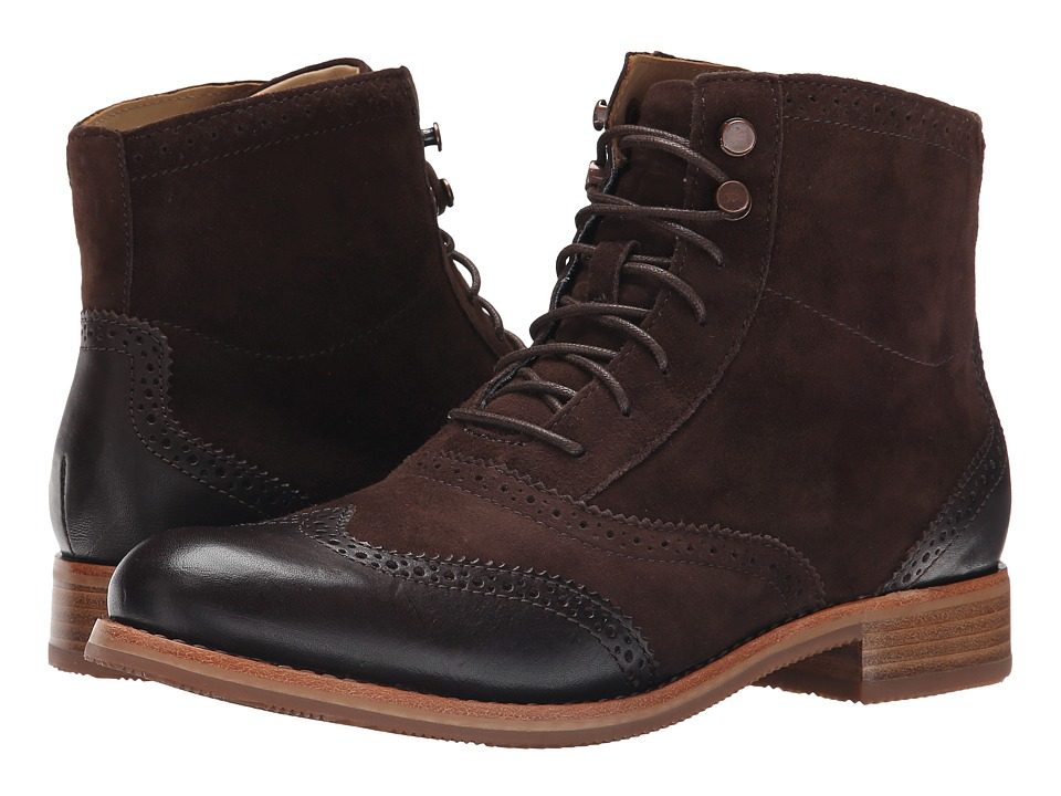 Sebago Claremont Boot (Brown Suede) Women