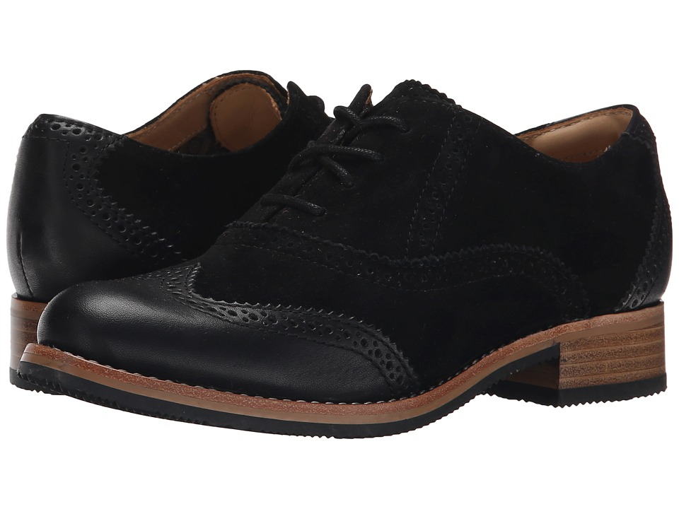 Sebago Claremont Brogue (Black Suede) Women