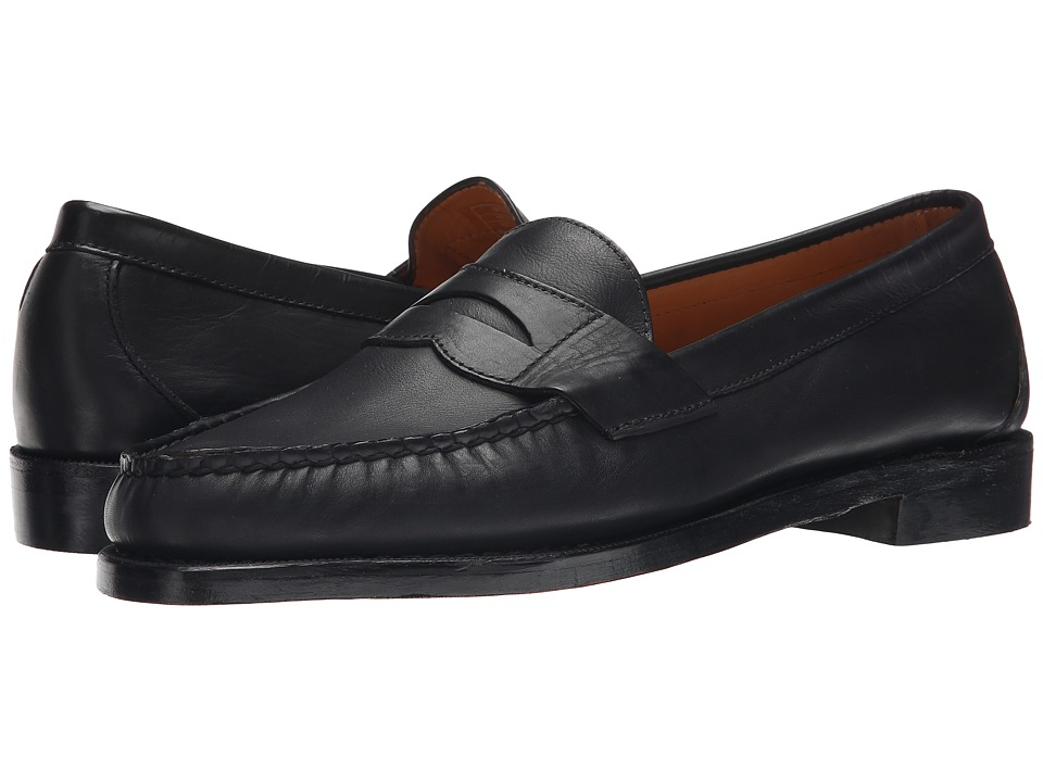 Sebago - Crest Cayman (Black Calf Leather) Men