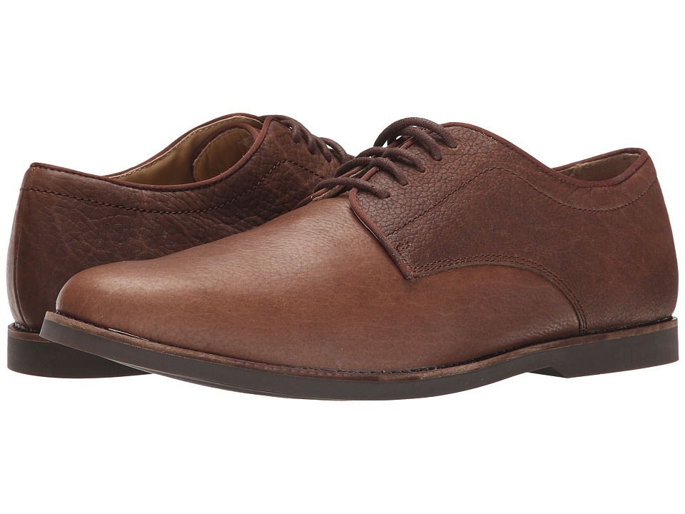Sebago Norwich Oxford (Brown Bison Leather) Men