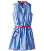 Tommy Hilfiger Kids - Belted Chambray Shirt Dress (Big Kids)