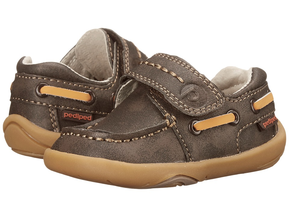 pediped Norm Grip n Go (Toddler) (Brown) Girl's Shoes