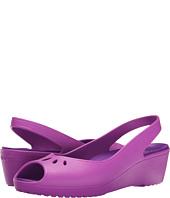 6PM:Crocs(卡骆驰) Mabyn Mini Wedge Wild 女士坡跟凉鞋, 原价$40, 现仅售$12