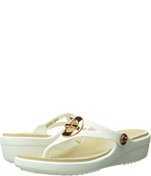 Crocs - Sanrah Circle Bow Wedge Flip
