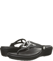 Crocs - Sanrah Studded Circle Wedge Flip