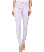 Hudson - Barbara High Waist Super Skinny Jeans in Light Orchid