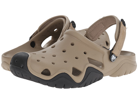 Crocs Swiftwater Clog - Khaki/Black