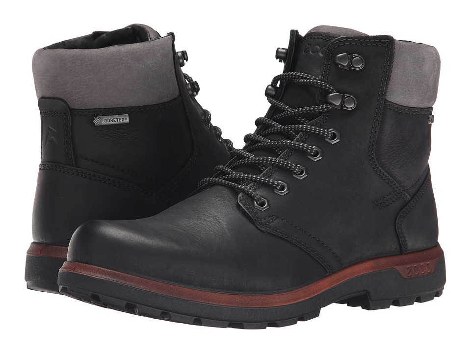ECCO Sport Whistler GORE-TEX(r) High (Black/Dark Shadow) Men