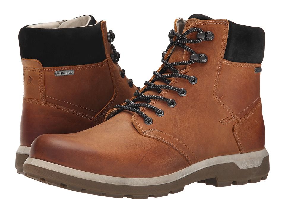 ECCO Sport Whistler GORE-TEX(r) High (Amber/Black) Men