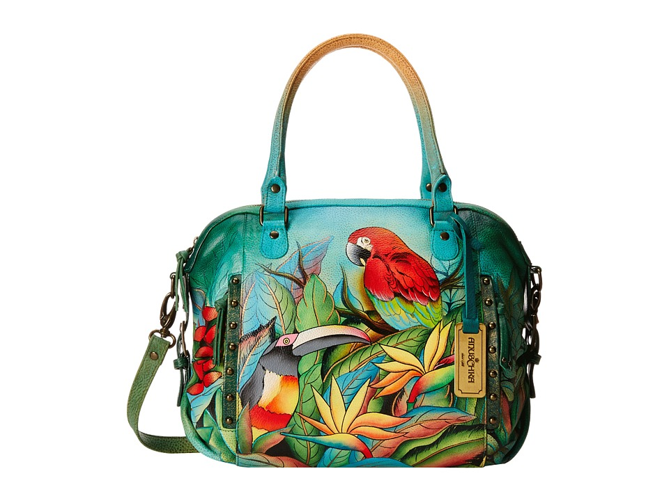 Anuschka Handbags - 526 (Tropical Bliss) Tote Handbags