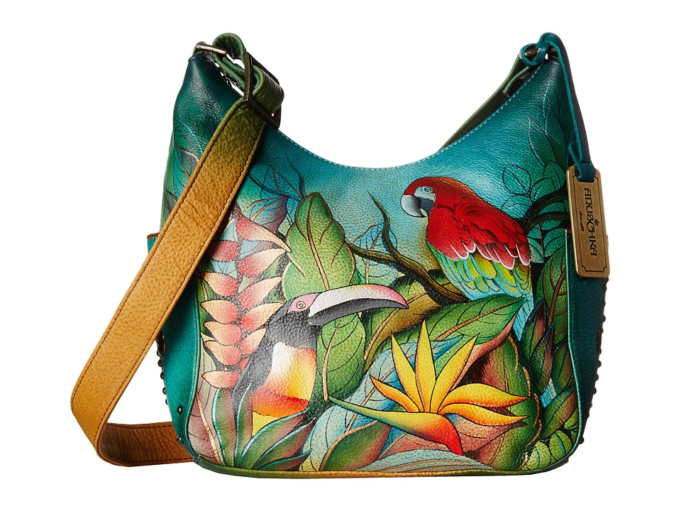 Anuschka Handbags - 433 (Tropical Bliss) Handbags
