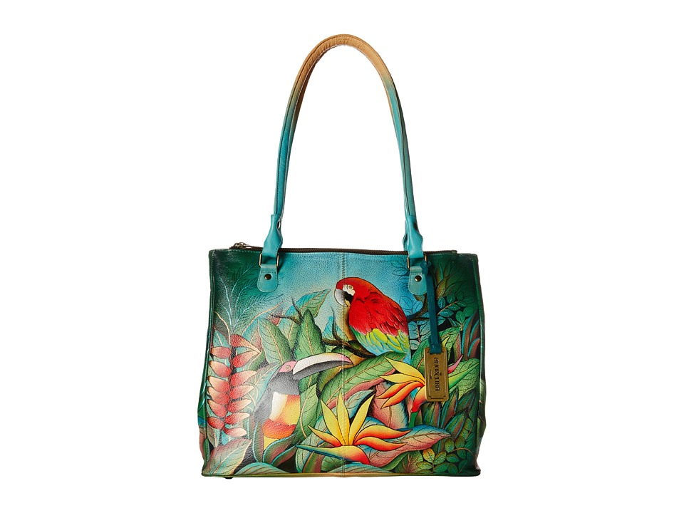 Anuschka Handbags - 549 (Tropical Bliss) Handbags