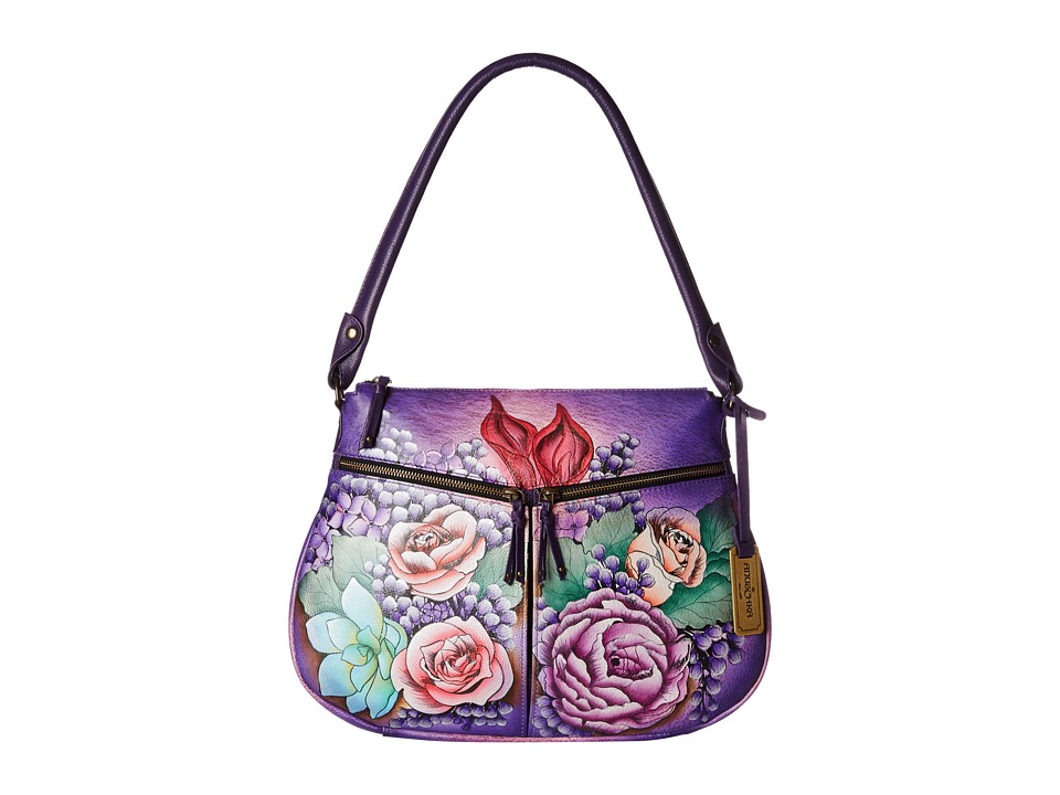 Anuschka Handbags - 544 (Lush Lilac) Handbags