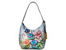 Anuschka Handbags Anuschka Handbags 382 Classic Hobo With Side Pockets