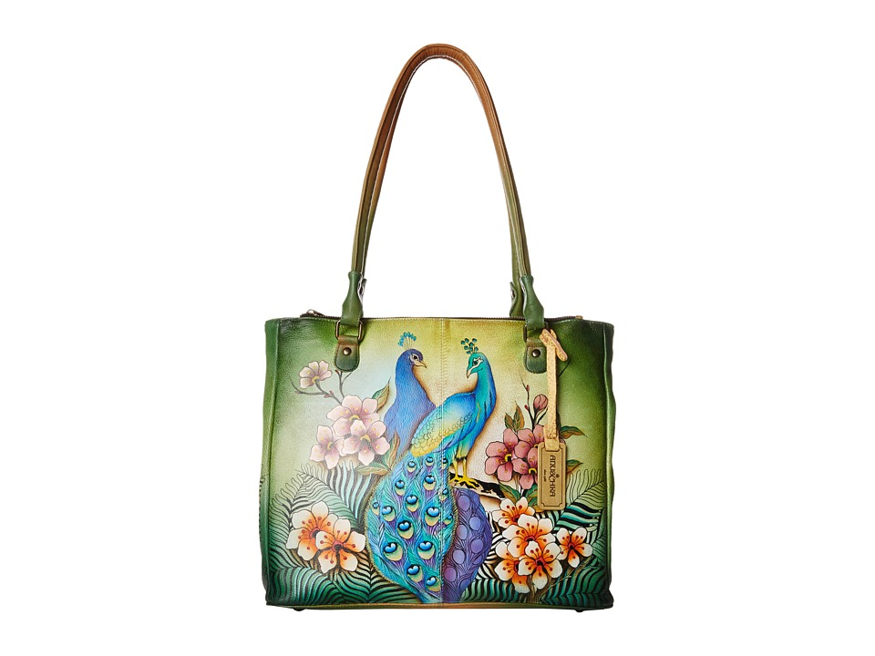 Anuschka Handbags - 549 (Passionate Peacocks) Handbags