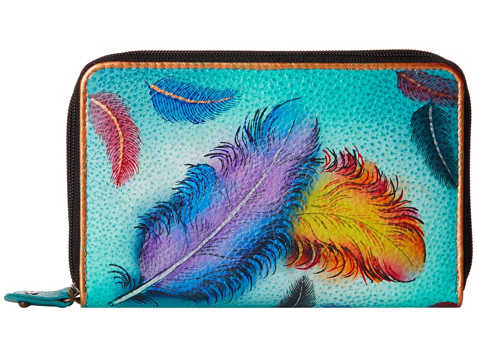 Anuschka Handbags - 1125 (Floating Feathers) Handbags