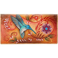 review detail Anuschka Handbags 1078 Flying Jewels Tan