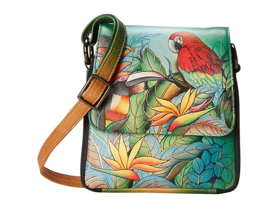 Anuschka Handbags - 483 (Tropical Bliss) Handbags