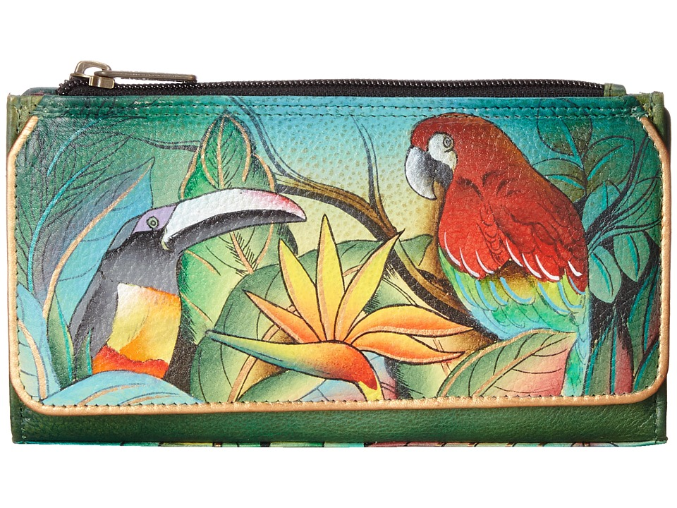 Image of Anuschka Handbags - 1114 (Tropical Bliss) Handbags