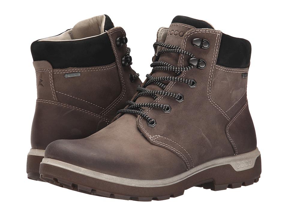 ECCO Sport Gora GORE TEX Stone/Black Womens Hiking Boots