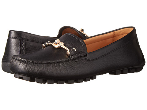 COACH Arlene - Black Pebble Grain Leather
