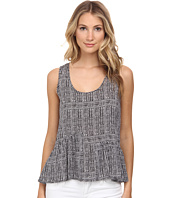 BCBGeneration - Asymmetrical Ruffle Tank Top
