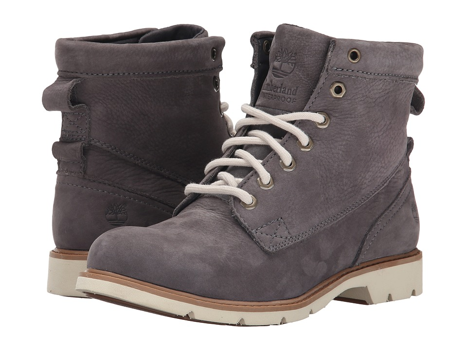 Timberland - Bramhall 6 Lace-Up Waterproof Boot (Dark Grey Buttersoft) Women