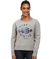 Life is good - Go-To Crew Sweatshirt