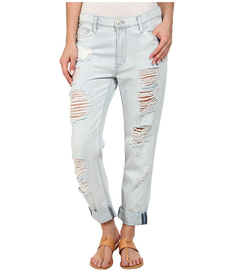 Hudson Jude Slouchy Skinny Crop Jeans in Beverly