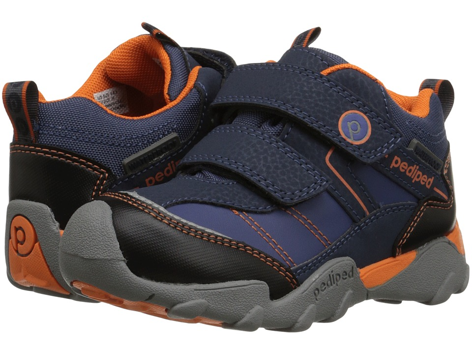 pediped Max Flex (Toddler/Little Kid) (Navy) Boys Shoes