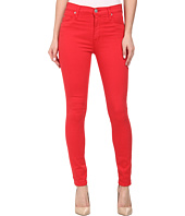 Hudson - Barbara High Waist Super Skinny Ankle Jeans in Larkspur Red