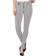 Hudson - Nico Super Skinny Mid Rise Jeans in City Stripe