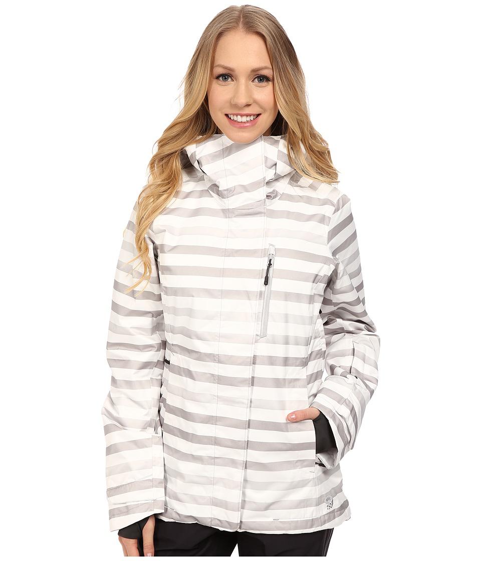 Mountain Hardwear Barnsie Jacket White Womens Coat