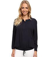 Calvin Klein Jeans - Garment Dyed Rayon Raglan Henley Sport Top
