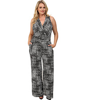 Mynt 1792 - Plus Size Sheer Bodice Jumpsuit