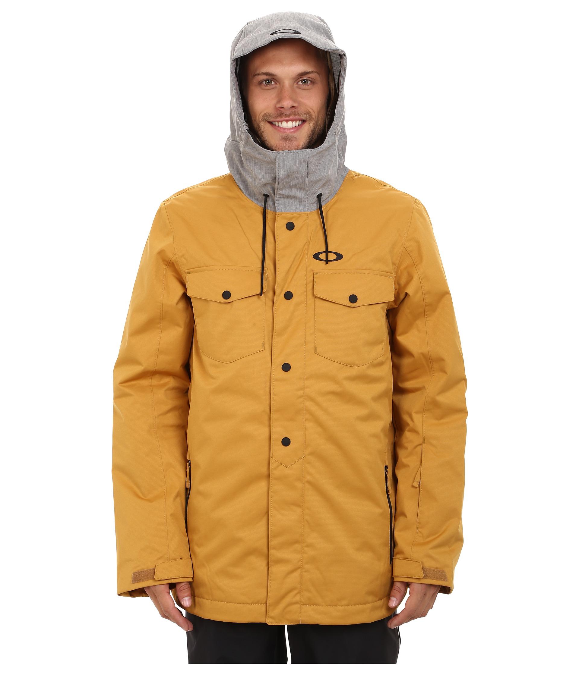 oakley goods snow jacket black camo